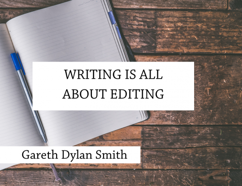 Writing is all about editing