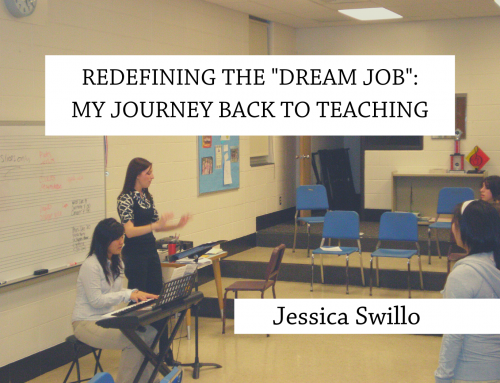 """Redefining the """"dream job"""": My journey back to teaching"""