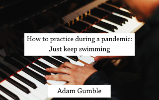 how to practice keep swimming