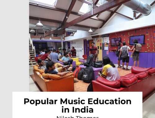 Popular Music Education in India