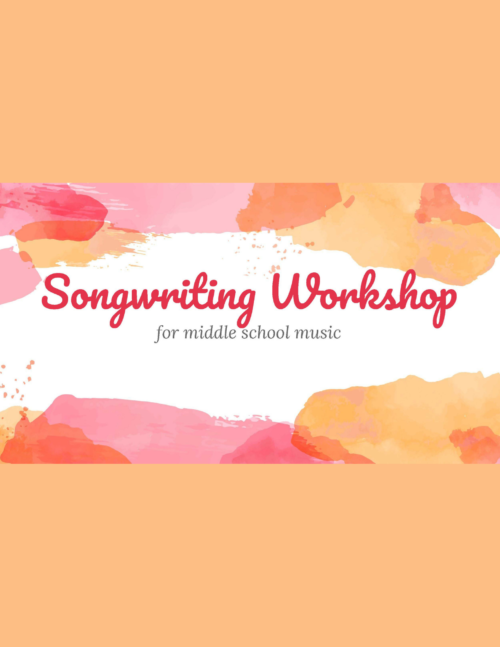 cover of songwriting workshop