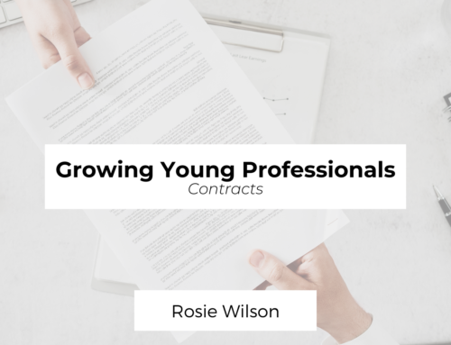 Growing Young Professionals: Contracts