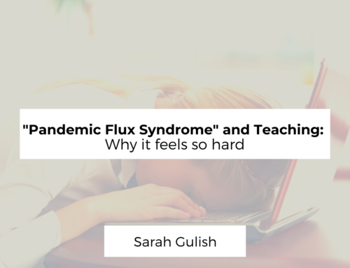 """""""Pandemic Flux Syndrome"""" and Teaching: Why it feels so hard"""